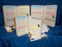 NR 42 round edged key cabinets