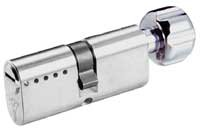 Garrison Oval profile key and turn cylinder 35X35MM