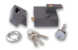 YALE No1 latch - 60mm Brasslux PB