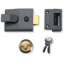 YALE 89 Security nightlatch - 60mm Chrome SC