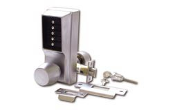 Unican 1011 Heavy Duty Mechanical digital lock - Polished Brass