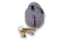 ERA 212  6 lever padlock