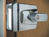 Ingersoll SC100  BS 3621 Nightlatch - Satin Chrome