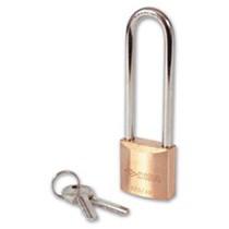 CISA Brass padlocks - long shackle - 5 pin - 41mm