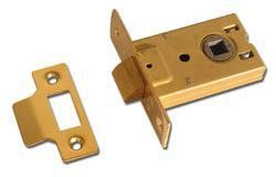 Asec Square latch - 64mm Satin