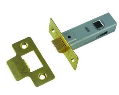 Aldridge Tubular Latch - Electro Brass - 65mm