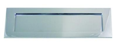 Chrome External Letter Plate 254mm