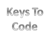 Keys to code. UNSURE OF MAKE