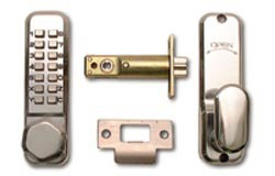 Low Duty Digital Lock In Brass