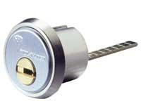 Garrison Replacement Rim Cylinder - Nickel Matt