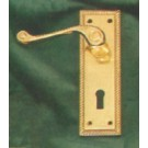 Georgian Lever Lock Handles