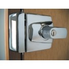 Ingersoll SC100  BS 3621 Nightlatch - Satin Chrome