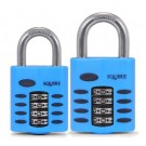 Squire CP50 Series Recodeable combination padlock in Blue