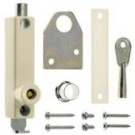 ERA 806 Universal pressbolt - cut key - Brass