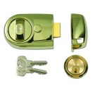 Yale Y3 Nightlatch Brass